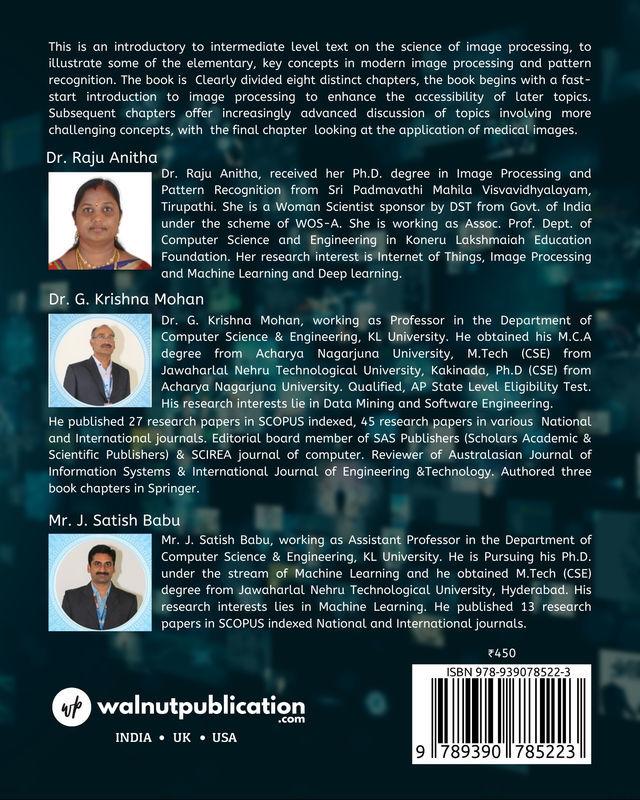 Fundamentals of Digital Image Processing - Back Cover