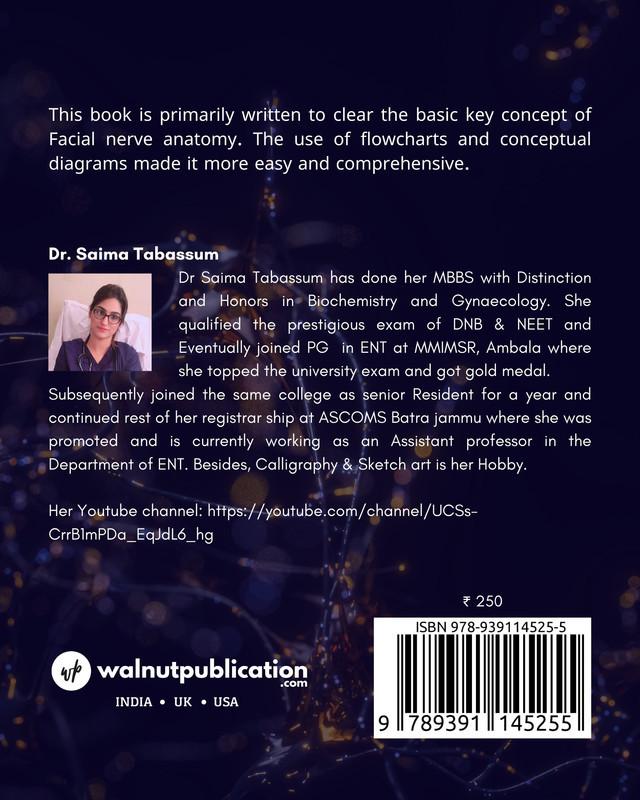 Handbook of Facial Nerve - Basic Neuroanatomy - Back Cover