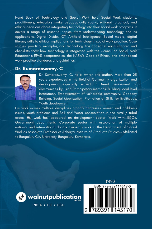 Hand Book of Technology and Social Work - Back Cover