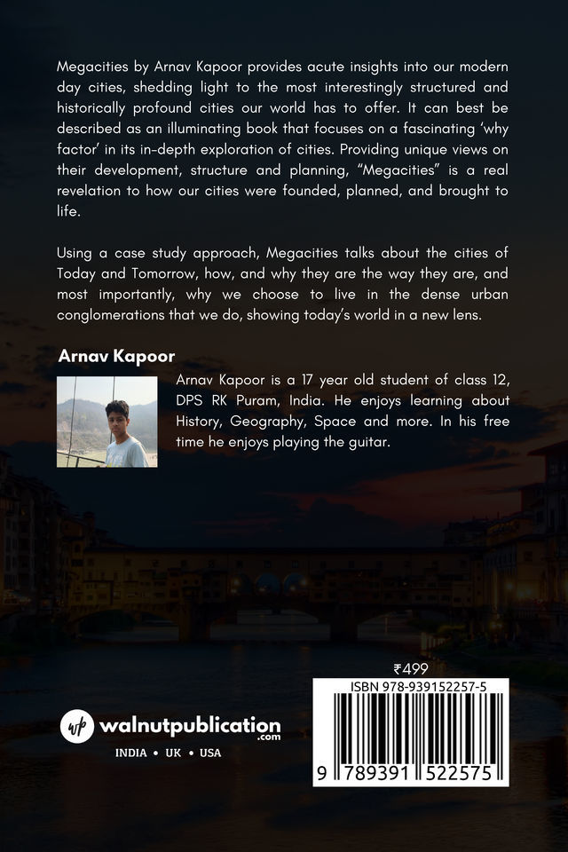 Megacities through the ages - Back Cover