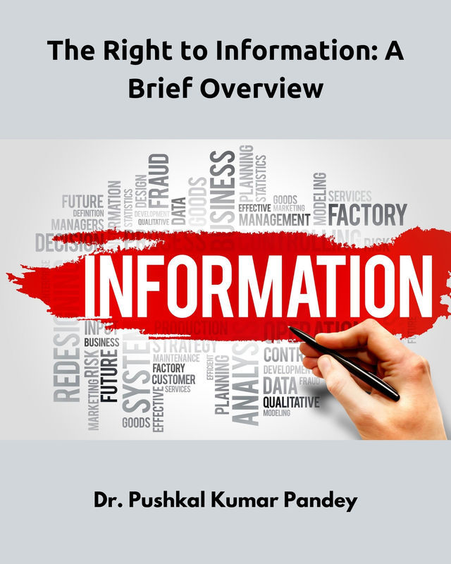 The Right to Information: A Brief Overview - Front Cover