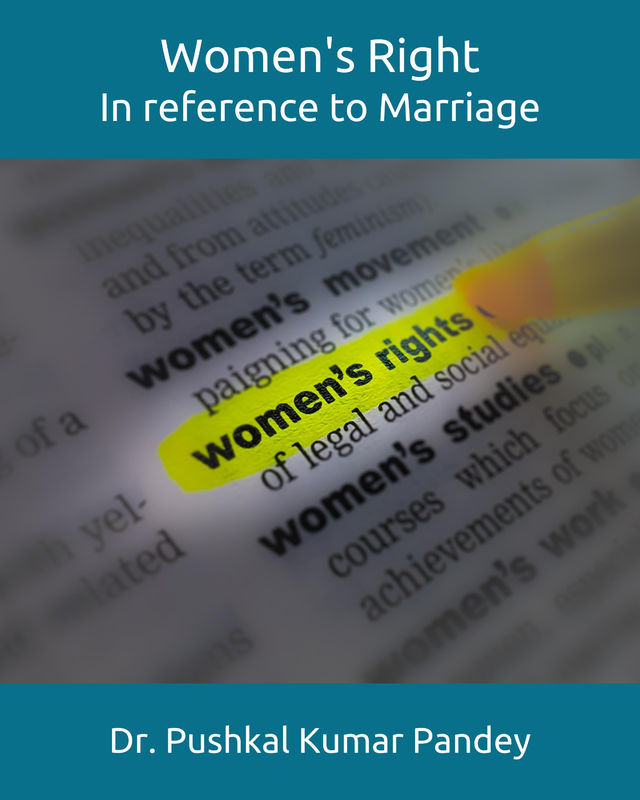 Womens Right - In reference to Marriage - Front Cover