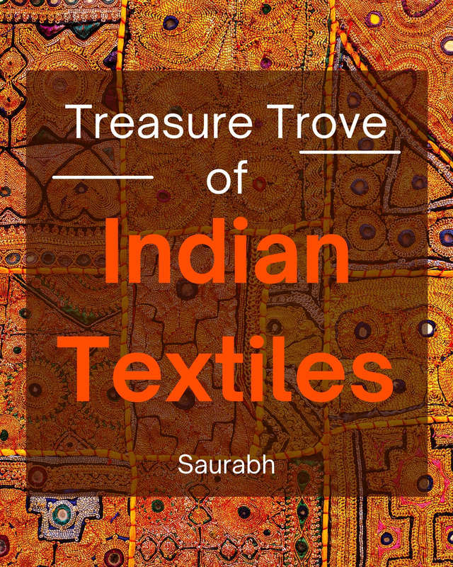 Treasure Trove of Indian Textiles - Front Cover