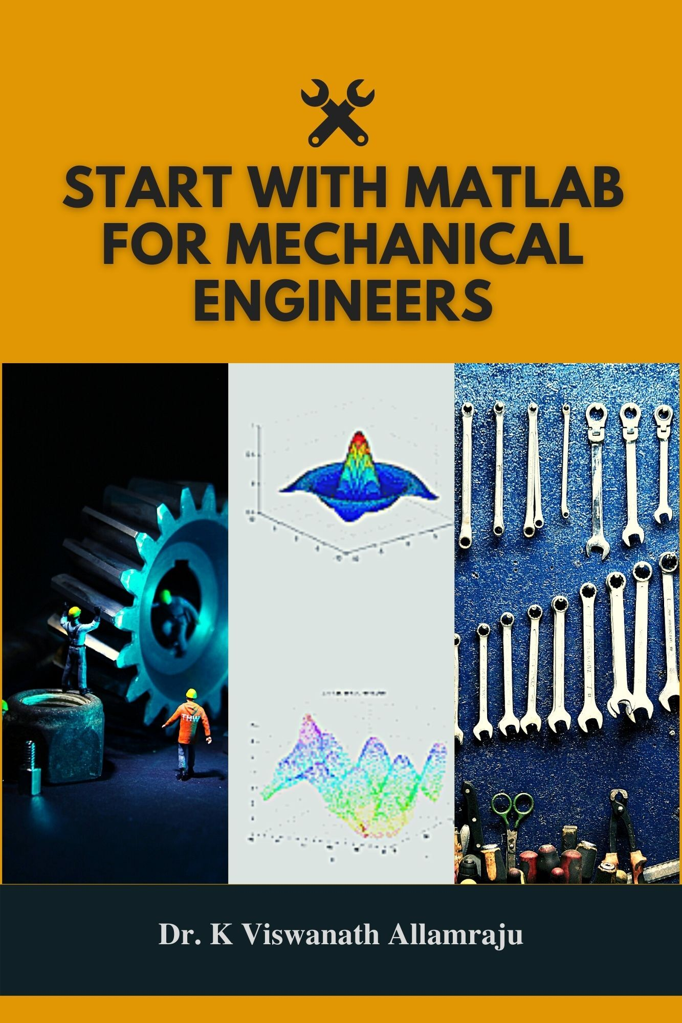 Start with Matlab for mechanical engineers - Front Cover