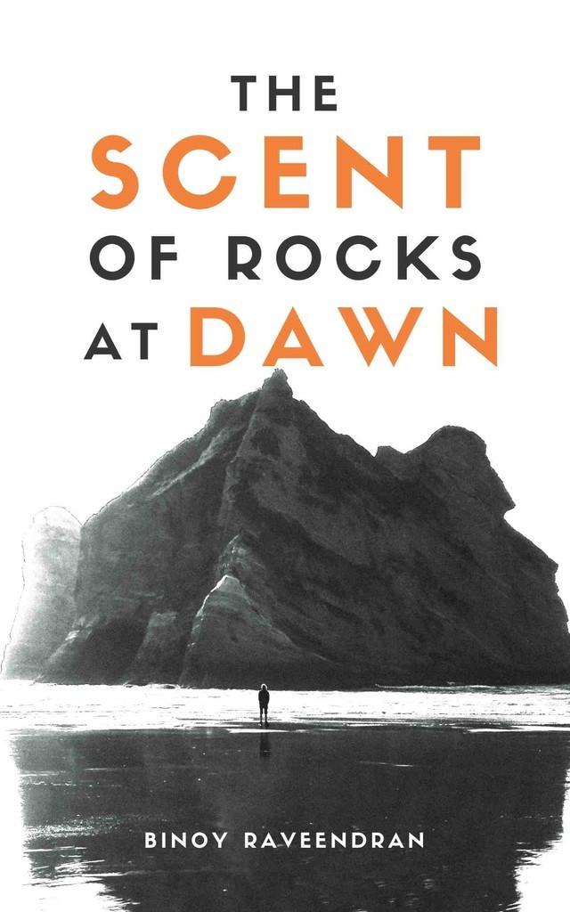 The scent of rocks at dawn - Front Cover