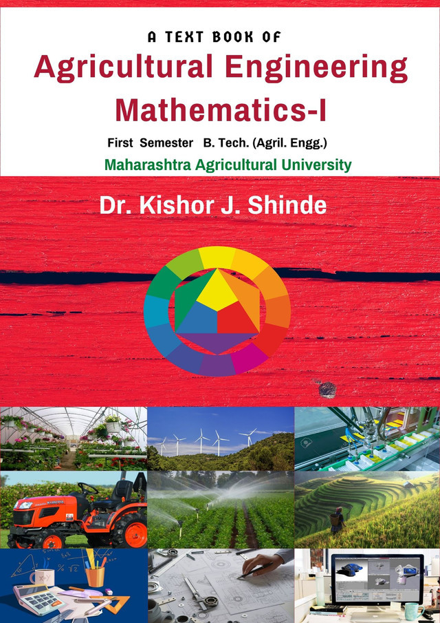 A Text Book of Agricultural Engineering Mathematics-I - Front Cover