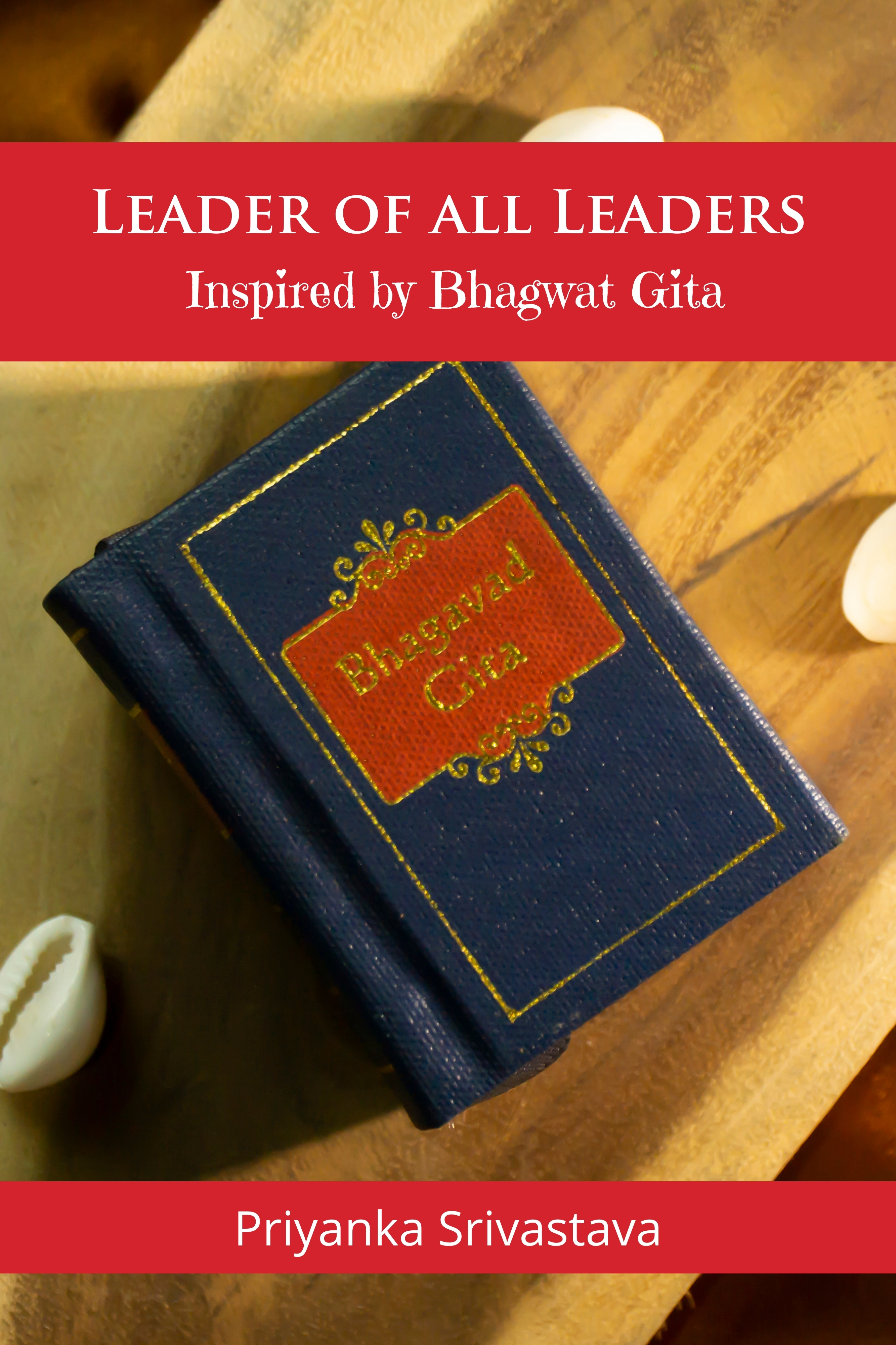 Leader of all Leaders - Inspired by Bhagwat Gita - Front Cover