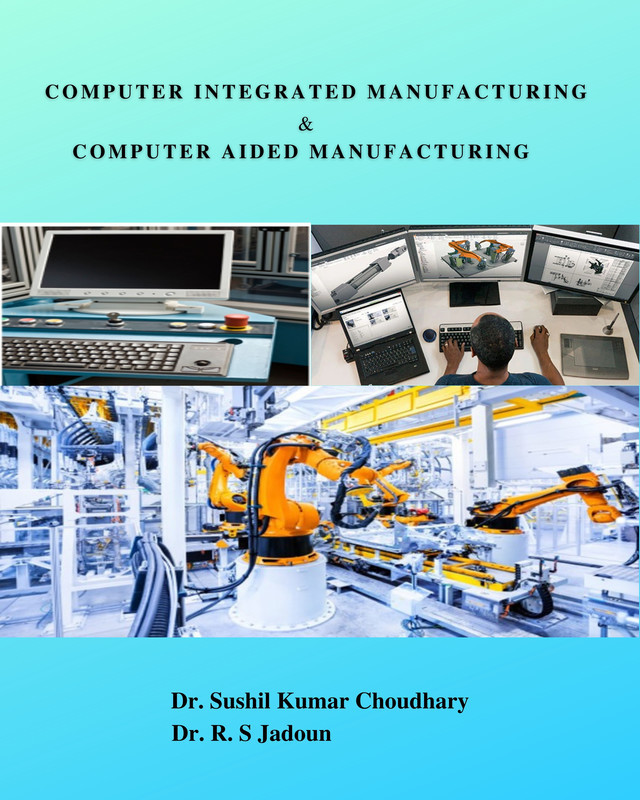 Computer Integrated Manufacturing & Computer Aided Manufacturing - Front Cover
