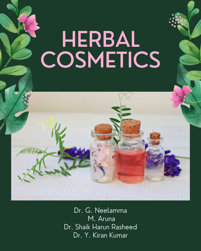 Herbal Cosmetics - Front Cover