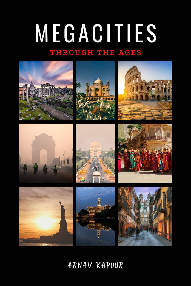 Megacities through the ages - Front Cover