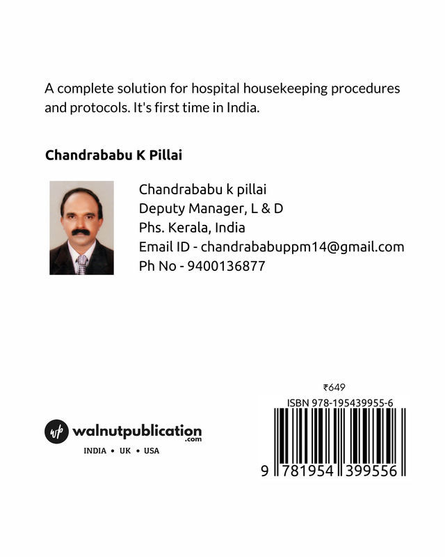 A Text Book of Hospital Housekeeping - Back Cover