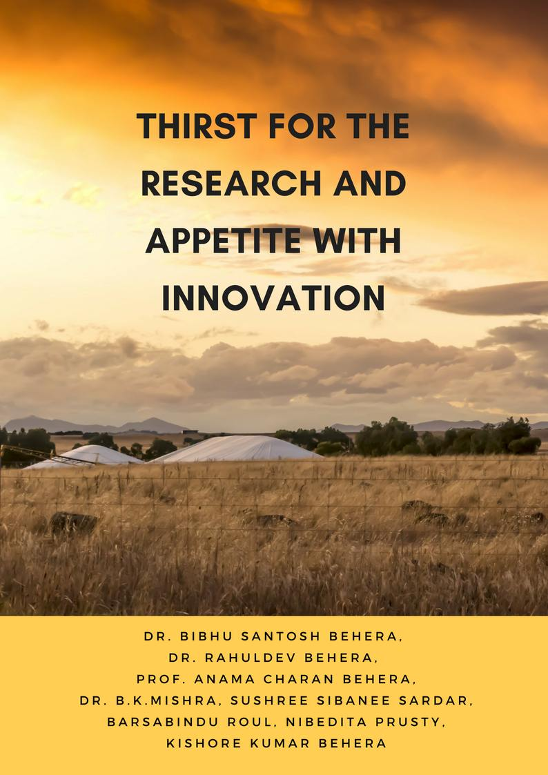 Thirst for the Research and Appetite with Innovation - Front Cover