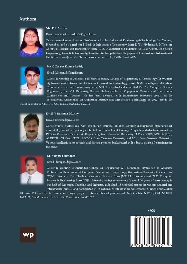 Object Oriented Programming using C++ - Back Cover