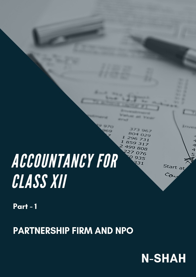 Accountancy for Class XII : Part-1 (Partnership Firm and NPO) - Front Cover