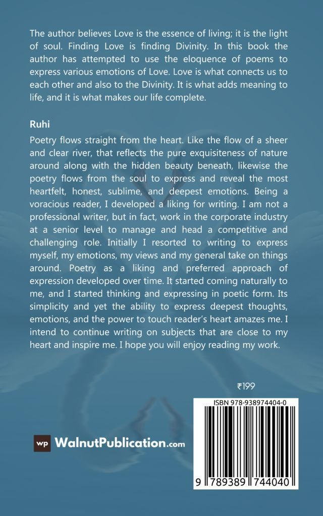 Shades of Love - Back Cover