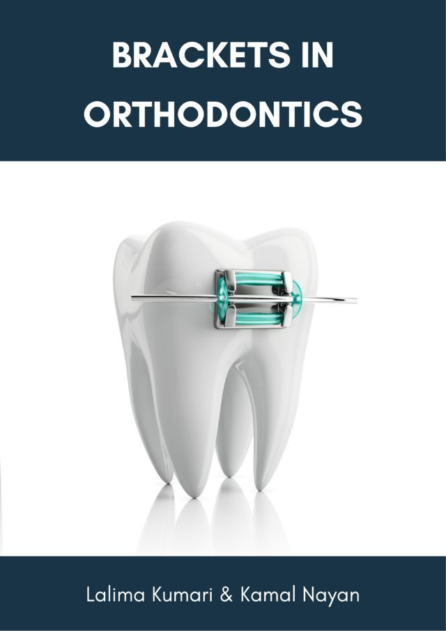 Brackets in Orthodontics - Front Cover