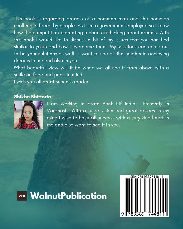 Turn your Dreams into Reality - Back Cover