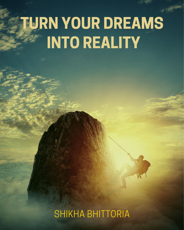 Turn your Dreams into Reality - Front Cover