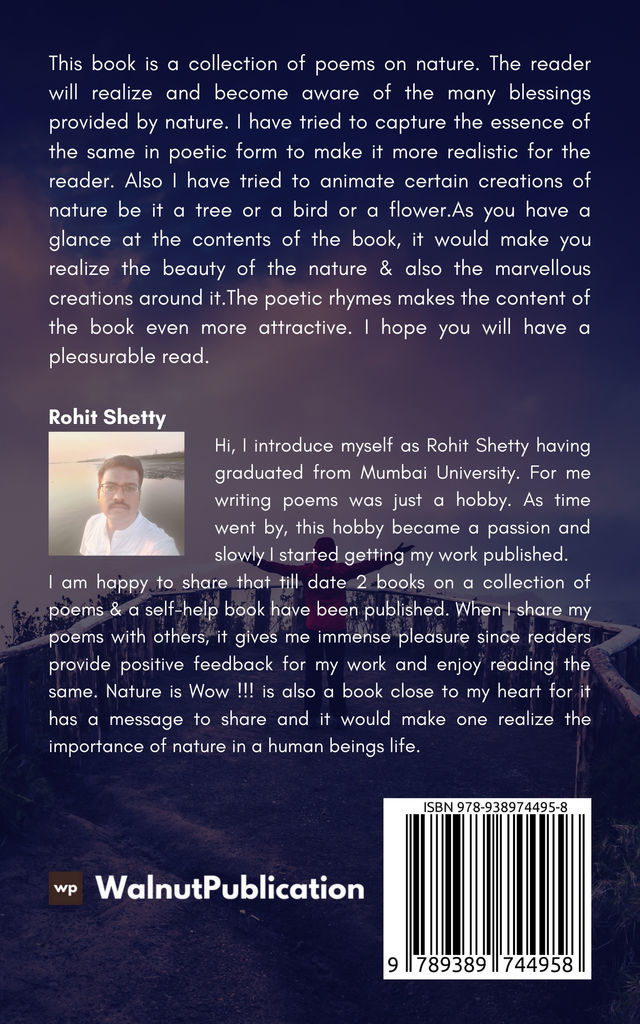 Nature is Wow !!! - Back Cover