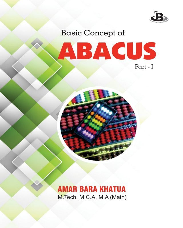 Basic Concept of Abacus: Part -1 - Front Cover