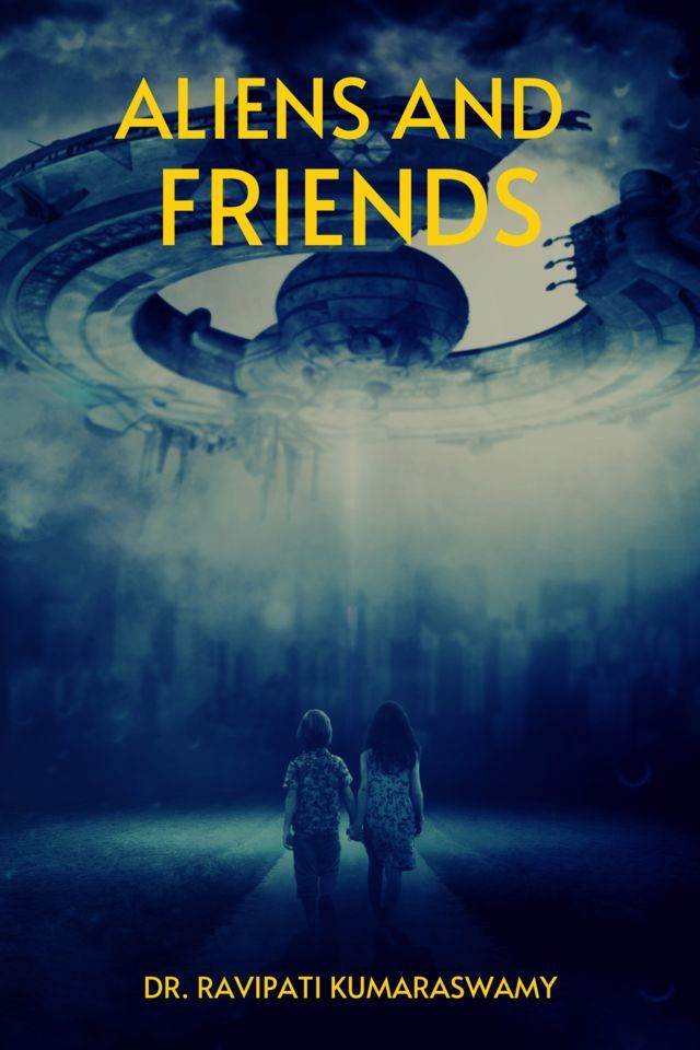 Aliens and Friends - Front Cover