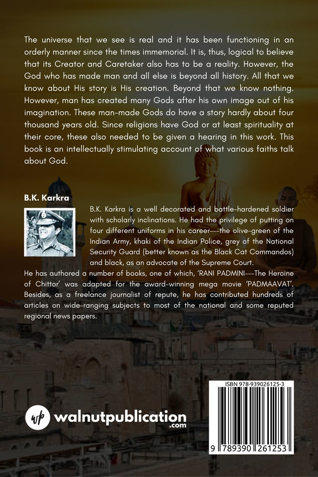 The Story of God - Back Cover