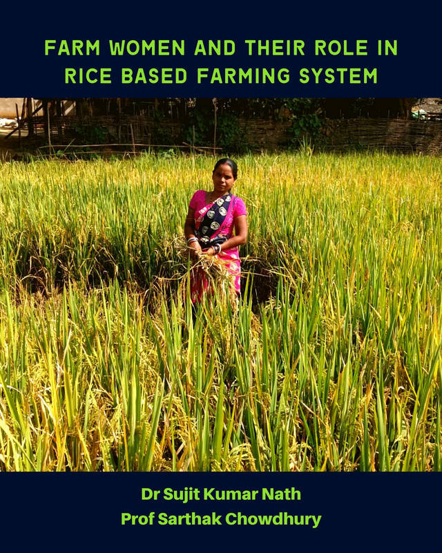 Farm women and their role in rice based farming system - Front Cover