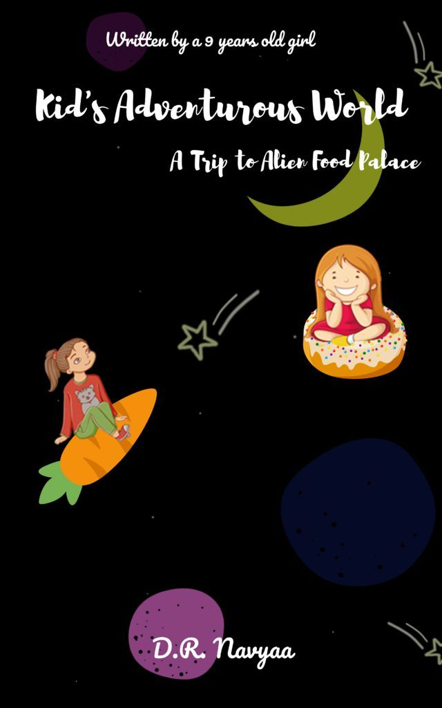 Kids Adventurous World A Trip to Alien Food Palace - Front Cover