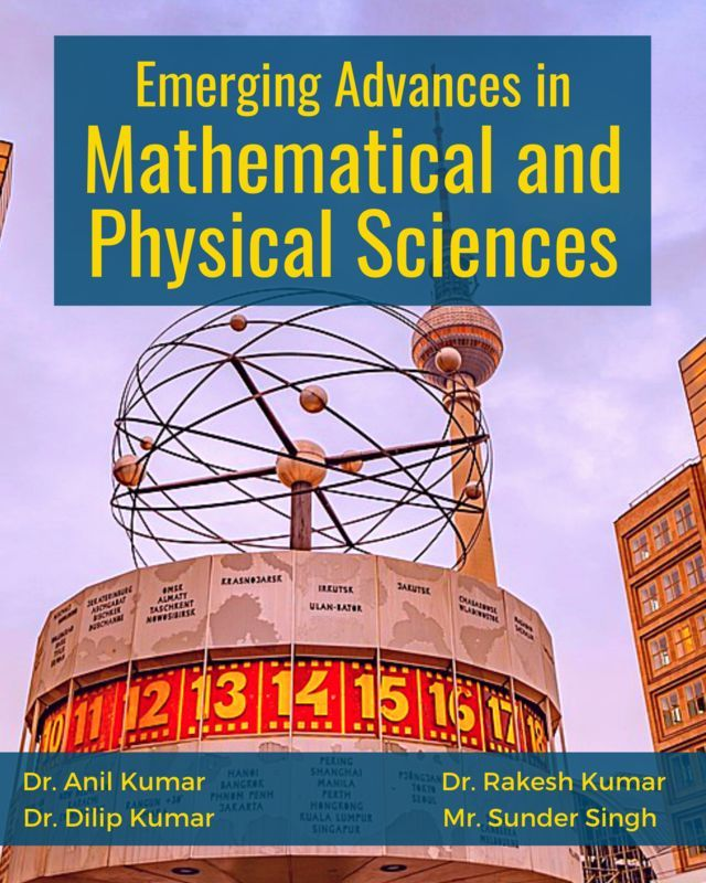Emerging Advances in Mathematical and Physical Sciences - Front Cover