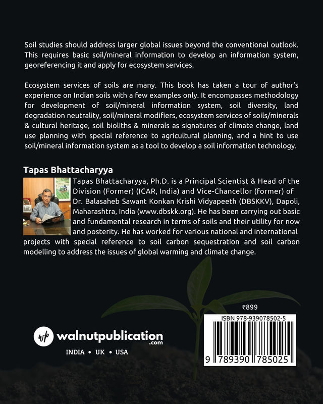 Information System & Ecosystem Services: Soil as Example - Back Cover
