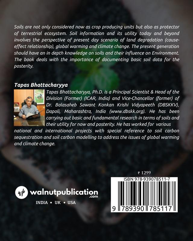 SOIL STUDIES: Now & Beyond - Back Cover