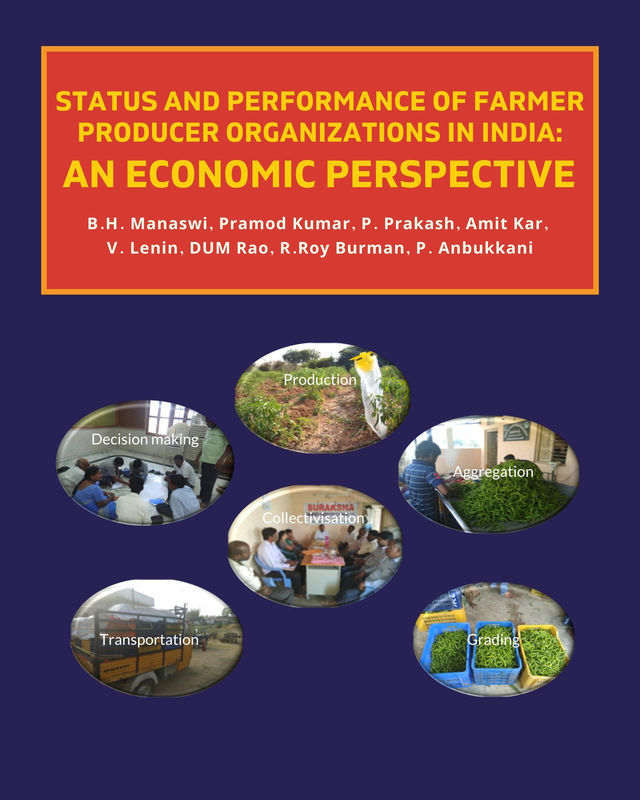 Status and Performance of Farmer Producer Organizations in India: An Economic Perspective - Front Cover