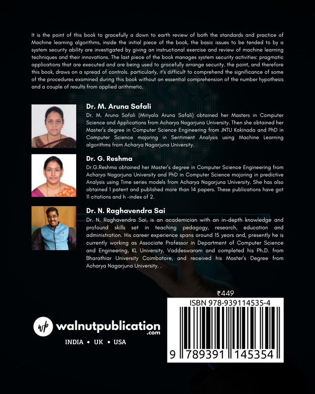 Machine learning for all - Back Cover