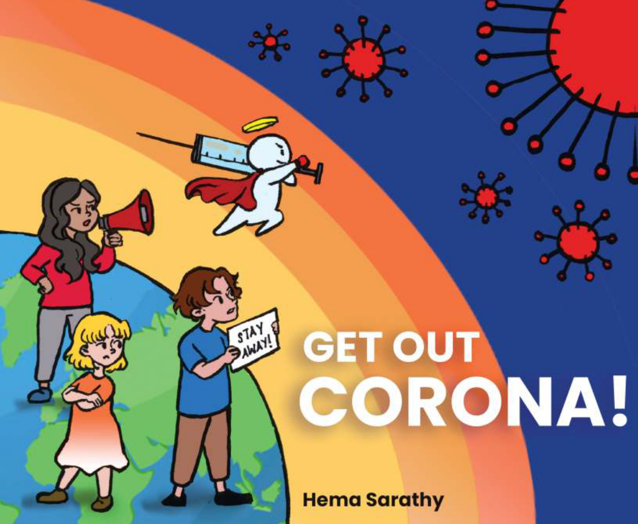 Get Out Corona - Front Cover