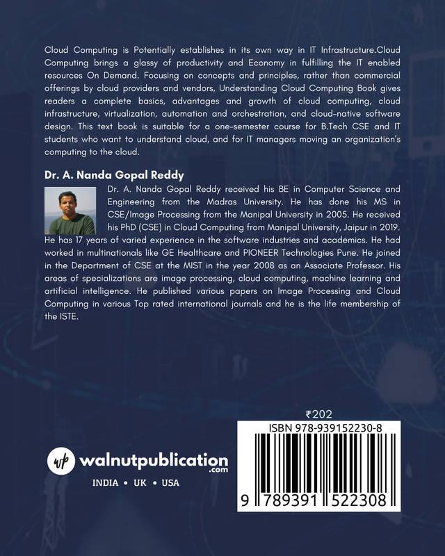 Understanding Cloud Computing - Back Cover