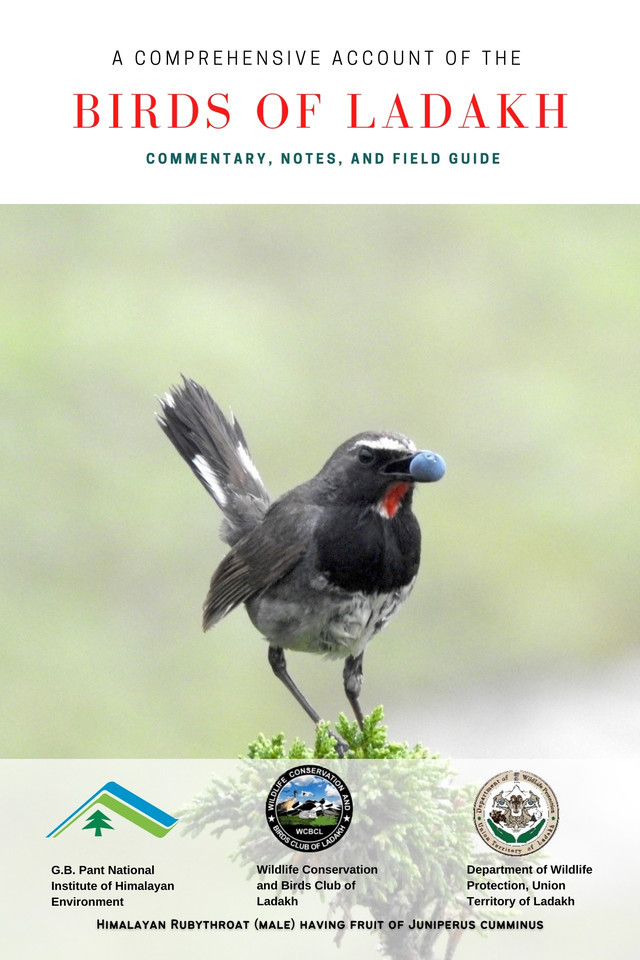 A Comprehensive Account of The Birds of Ladakh: Commentary, Notes, and Field Guide - Front Cover