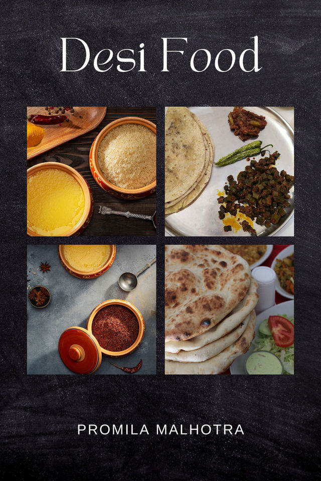Desi Food - Front Cover
